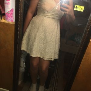Target White Lace Dress